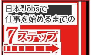 日本Jobsで仕事を始めるまで